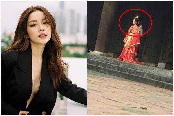 """Yêu đương chán chê, Chi Pu lộ tạo hình cổ trang """"thái tử phi"""" trong MV kiếm hiệp ò ó o tiếp theo?"""