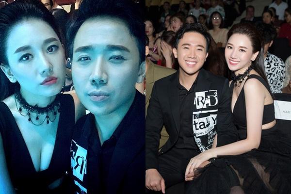 """Không chỉ chăm diện đồ đôi, Trấn Thành - Hari Won còn vẽ luôn cả """"lông mày đôi"""" thấy mà hài"""