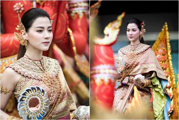 """Nữ chính Friendzone khiến dân tình """"náo loạn"""" bởi nhan sắc cực phẩm khi hóa thân thành Nữ thần Songkran"""