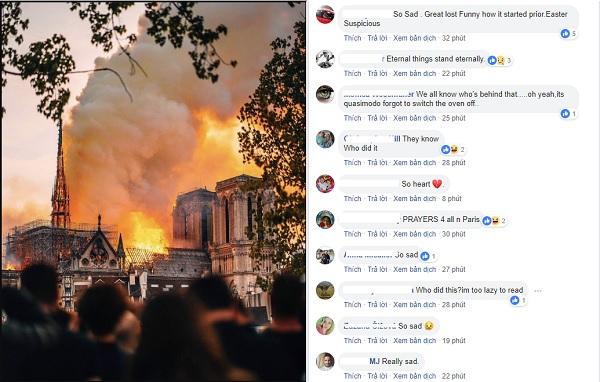 Cháy Nhà thờ Đức Bà Paris: Niềm tự hào của nước Pháp suốt 850 năm qua hóa tro tàn khiến CĐM không khỏi tiếc nuối