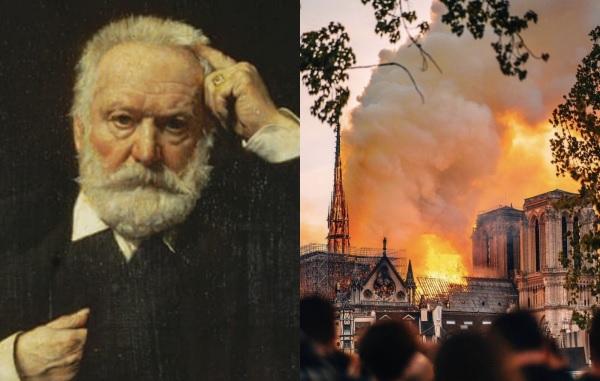 Victor Hugo không tiên đoán Nhà thờ Đức Bà Paris bị cháy, ông chỉ kể về vụ cháy gần 200 năm trước