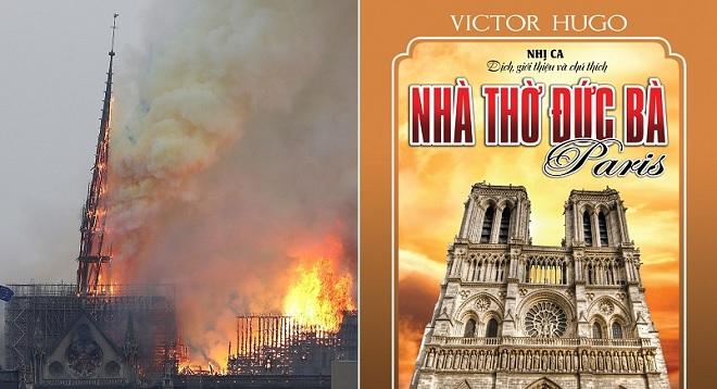 """Victor Hugo """"tiên tri"""" vụ nhà thờ Đức Bà Paris cháy lớn từ gần 200 năm trước?"""