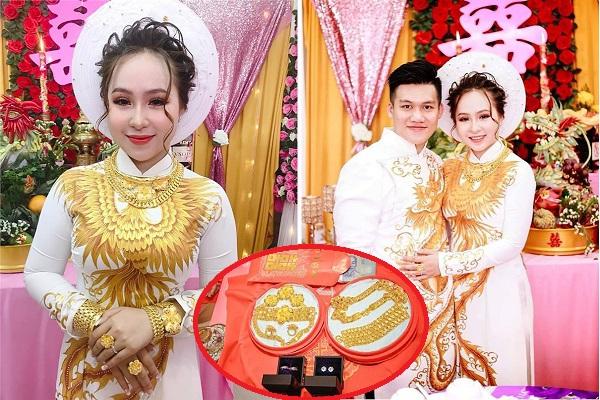 Choáng với đám cưới của tiểu thư 2k con nhà giàu: 13 cây vàng, 1 nhẫn kim cương và 1 tỷ tiền mặt