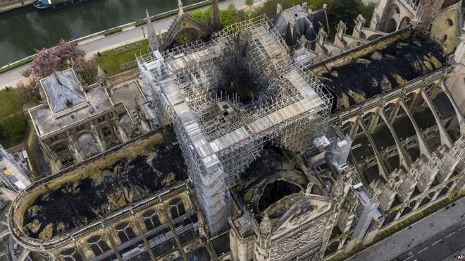 Cẩn thận bị lừa tiền với chiêu trò quyên góp phục dựng Nhà thờ Đức Bà Paris