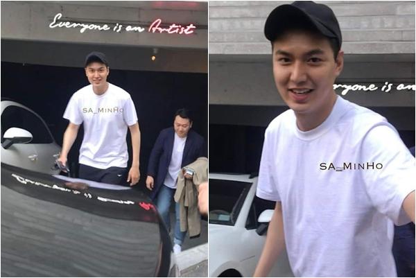 Sát ngày xuất ngũ, Lee Min Ho lộ vẻ ngoài tăng cân nhưng vẫn đẹp trai hết chỗ nói