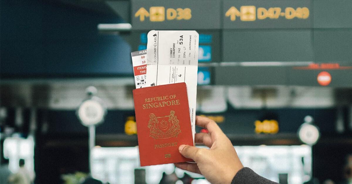 Singapore sẽ ngừng đóng dấu xuất cảnh trên hộ chiếu từ ngày 22/4