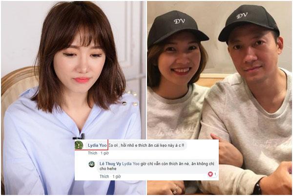 Cưới 4 tháng, bà xã Tiến Đạt thông báo tin vui, em gái Hari Won nhảy vào bình luận thế này!