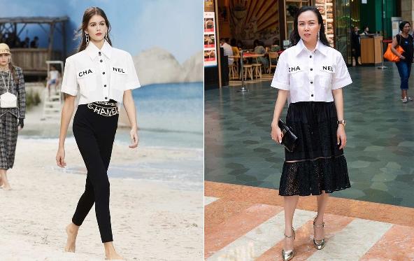 """Nhìn Phượng Chanel lên đồ của """"Chanel"""" vẫn cứ thấy sai quá sai"""