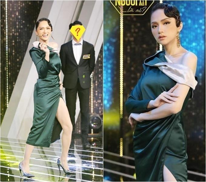 """Đi """"mai mối"""" mặc đẹp là tốt, nhưng lộng lẫy hơn nữ chính là """"lỗi"""" của Hương Giang rồi!"""