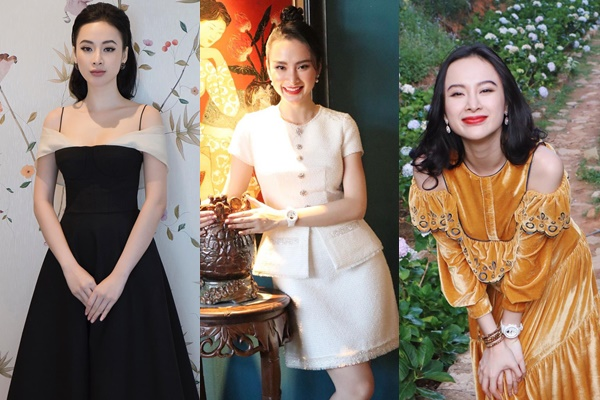 Hết thời kỳ nổi loạn, Angela Phương Trinh trở lại với phong cách thanh lịch, kín đáo