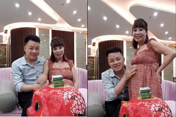 Cô dâu 62 tuổi tiếp tục livestream chia sẻ về bụng bầu vượt mặt: Đang kiếm tiền để mổ đẻ vì sức khỏe không cho phép