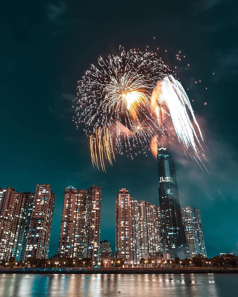 HOT: TP.HCM sẽ bắn pháo hoa nghệ thuật ở tòa nhà Landmark 81 vào dịp lễ 30/4