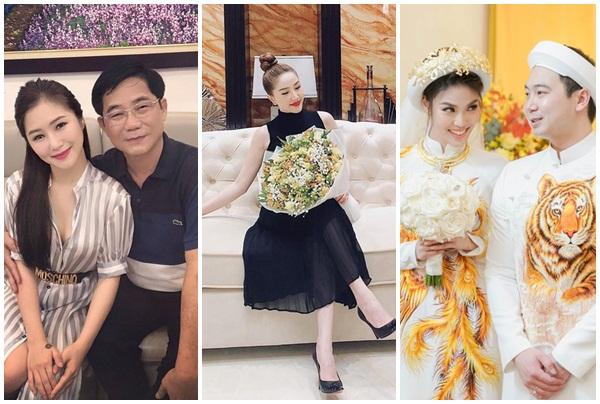 """4 mỹ nhân Việt sinh ra đã """"ngậm thìa vàng"""", Hương Tràm bố làm Giám đốc sở, bất ngờ nhất Lan Khuê"""