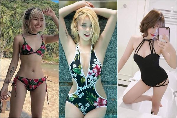 Khi dàn hotgirl streamer khoe dáng với đồ đi biển, nhìn thế mà không đùa được đâu