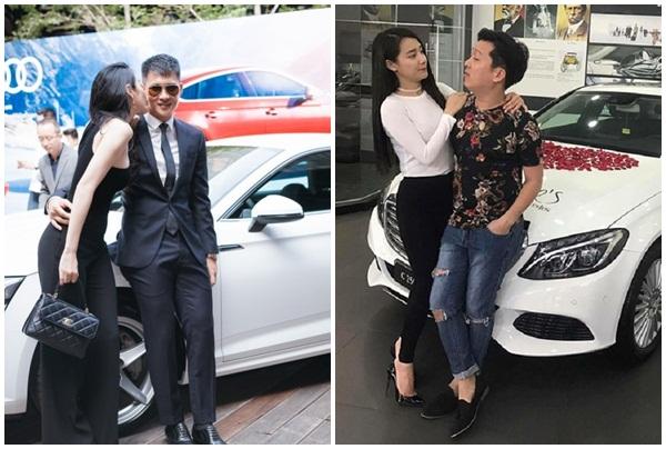 Quý ông Vbiz chiều vợ: Trấn Thành mua hàng hiệu, Trường Giang mua ô tô chưa bằng một góc Công Vinh