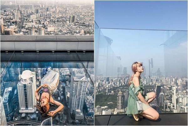 Bao trọn cả thủ đô Bangkok giữa sàn kính cao hơn 300m