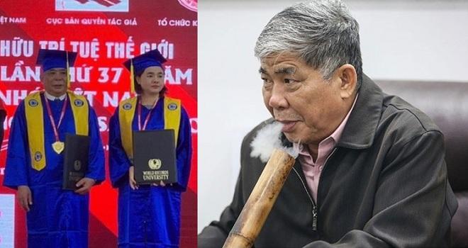 """""""Đại gia điếu cày"""" Lê Thanh Thản nhận bằng cử nhân danh dự: Đâu phải học đại học mới lấy được bằng cử nhân!"""