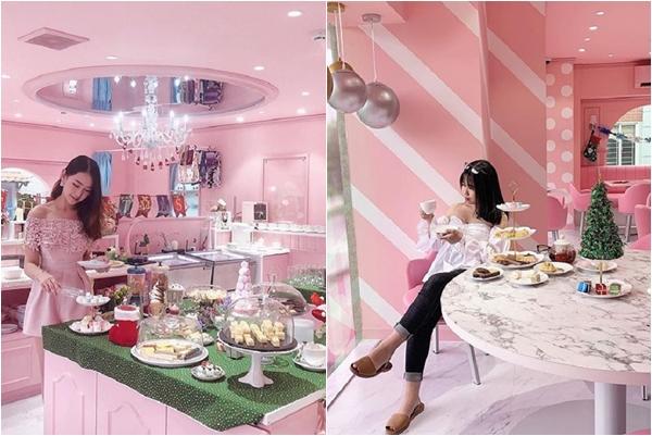 """Khui hộp """"tiệm trà hồng toàn tập"""" ngay trong nước mà cứ ngỡ Hàn Quốc"""