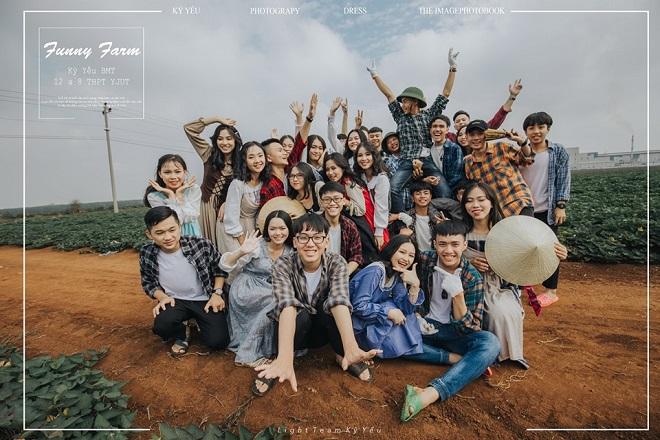 Góc kỷ yếu: Mê mẩn với bộ ảnh kỷ yếu trên cao nguyên đất đỏ đẹp từ cảnh đến người của học sinh Đắk Lắk