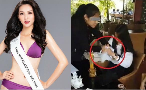 Bị tung clip tranh cãi, xé giấy nợ 1,5 tỷ, Hoa hậu Nhân ái Thùy Tiên lên tiếng bất lực