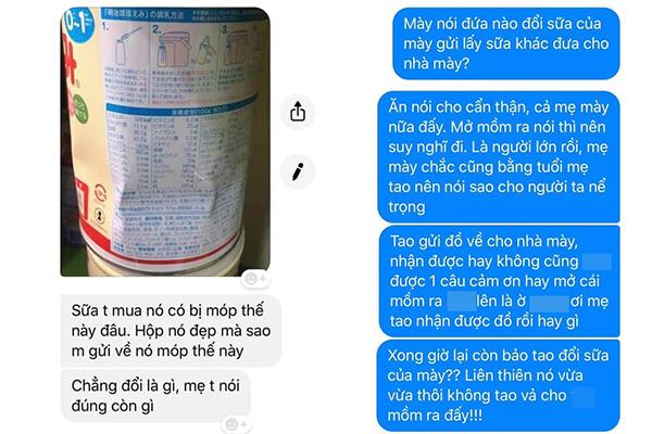 """Góc """"lật mặt"""": Xách hộ bạn 7kg hàng từ Nhật về, cô gái tức điên vì bị bạn vu cho tráo sữa xịn, đưa sữa đểu bị móp hộp"""