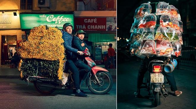 Một Hà Nội mộc mạc với góc nhìn nghệ thuật trên yên xe máy của nhiếp ảnh gia người Anh
