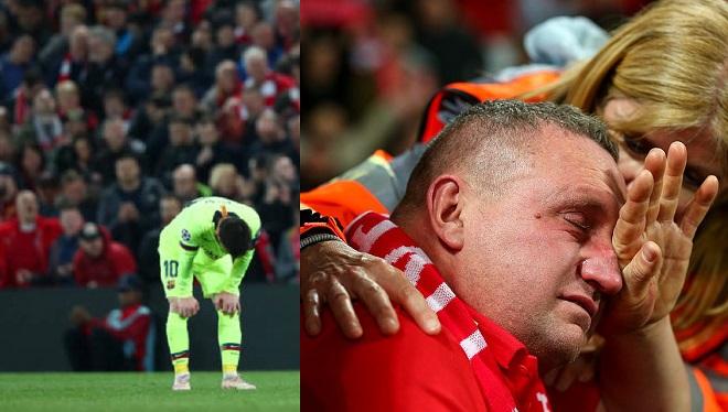 """""""Địa chấn"""" của năm khiến MXH ngập tràn hình ảnh thiên tài Messi và một màu đỏ"""