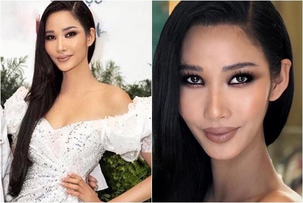 """Vừa đại diện Việt Nam đi thi Hoa hậu Hoàn vũ, Hoàng Thùy """"mất điểm nặng"""" vì lối trang điểm"""