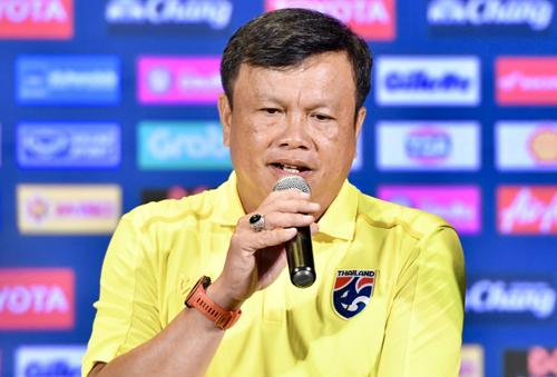 Ảnh 1: Thầy trò Thái Lan khích tướng - We25.vn