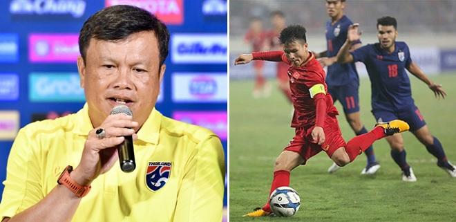 """Sau """"chiêu"""" bốc thăm để được gặp Việt Nam, thầy trò Thái Lan """"khích tướng"""" ầm ĩ trên báo chí"""