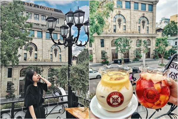 [MỚI] Quán cafe rộng nghìn mét vuông, chụp ban công đẹp tựa trời Âu ngay giữa trung tâm Hà Nội