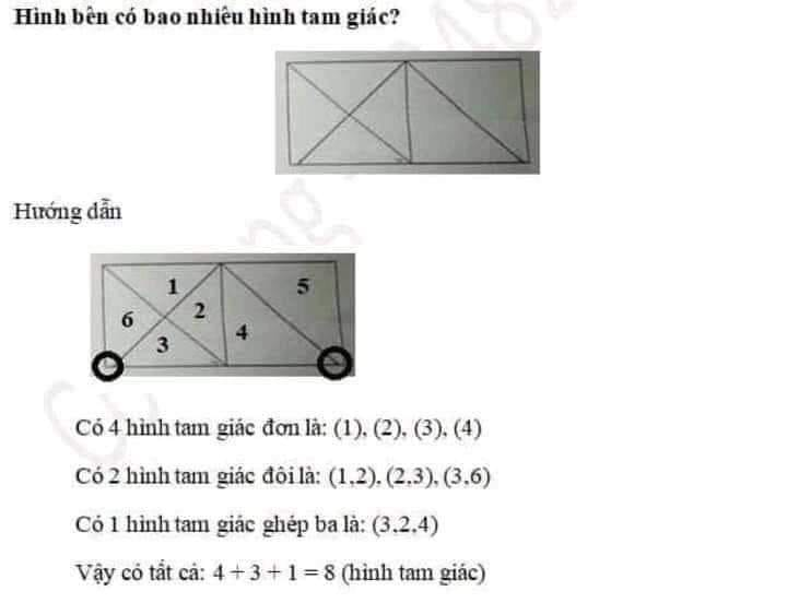 Ảnh 2: Bài toán của học sinh lớp 2 - We25.vn
