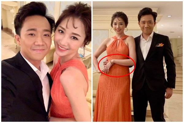 Nối tiếp vợ Tiến Đạt, Hari Won liên tục lấy tay che bụng vì mang bầu?