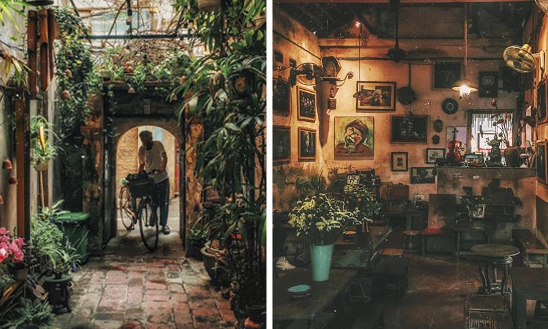 """Ngõ nhỏ, phố nhỏ xuất hiện một """"Góc Cafe vintage"""" năm năm tháng tháng vẫn ở đó!"""