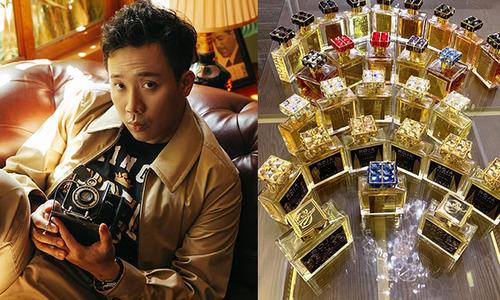 """Sở hữu BTS nước hoa đủ để mở cửa hàng, """"người đàn ông thơm nhất Việt Nam"""" chính là Trấn Thành"""