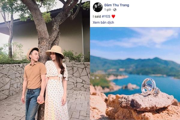 """Choáng ngợp với cặp nhẫn cưới bạc tỷ Cường Đôla dành cho Đàm Thu Trang, chắc ai đó sẽ """"tị"""""""