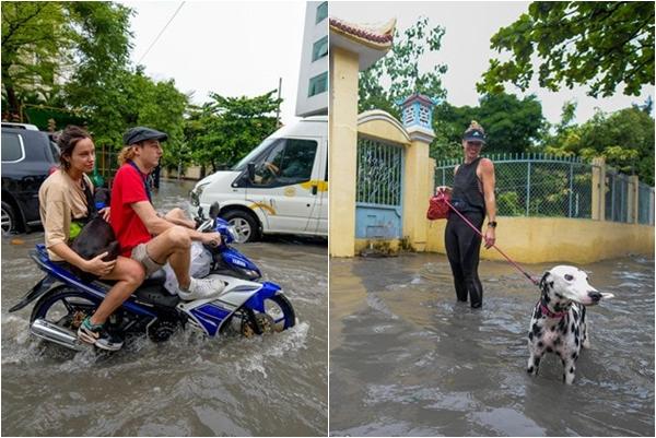 """Đặc sản Sài Gòn MÙA MƯA mà có người vui tính bảo """"Đi ngoài đường như đi công viên nước"""""""