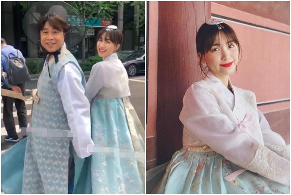 Bạn trai thiếu gia vừa vung tiền bao vé show, Hòa Minzy đã lập tức sang Hàn chụp ảnh cưới?
