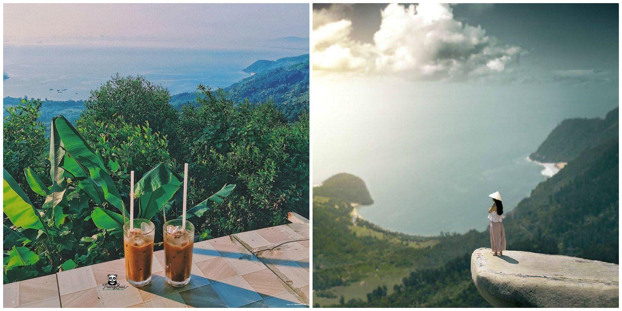"""Ôm trọn toàn cảnh Đà Nẵng ở """"TIỆM CAFE GIỮA ĐÈO HẢI VÂN"""" view đẹp bất chấp"""