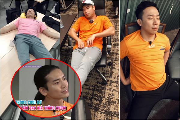 Đăng ảnh dìm hàng đồng đội trong Running Man bản Việt, BB Trần bị bóc mẽ 1 nghìn 8 vạn tư thế ngủ còn xấu hơn