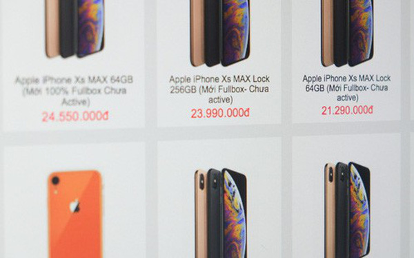 Sau vụ Nhật Cường Mobile, các cửa hàng điện thoại nháo nhác gỡ hàng xách tay khỏi website