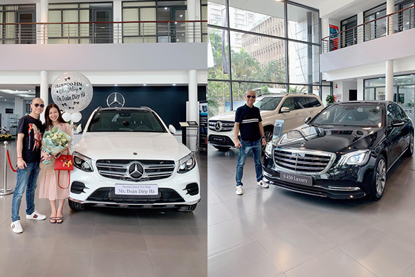 """Tậu xế hộp Mercedes trị giá 2,3 tỷ tặng vợ, """"người chồng của năm"""" bất ngờ nhận về S450L Luxury đắt tiền gấp đôi"""