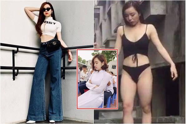 """Hotgirl tuyên bố """"vượt mặt Chi Pu"""" hóa ra cũng từng lộ thân hình """"vỡ mộng"""" chưa qua photoshop"""