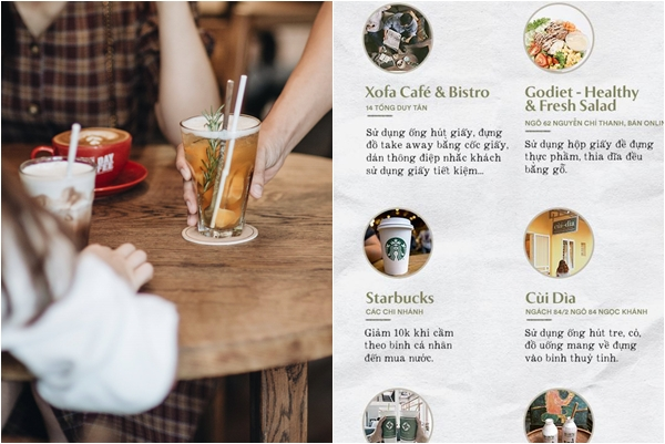 """Loạt quán cà phê hưởng ứng phong trào """"sống xanh"""" đang được giới trẻ cho lên TOP """"must go"""""""