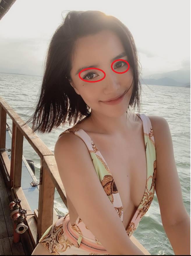 Bích Phương khoe ảnh xẹp lép, nhưng zoom kỹ vào mắt lại nhìn thấy trai 6 múi Shark Khoa?