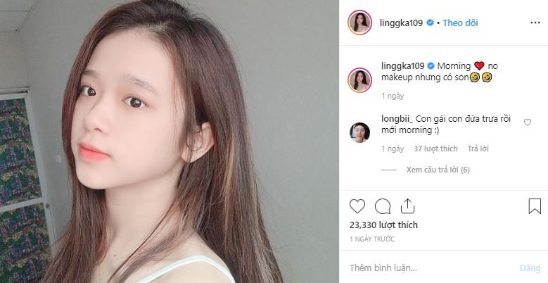 Linh Ka khoe mặt mộc sương sương, nhưng bình luận của Long Bi mới là điều dân tình đổ dồn chú ý
