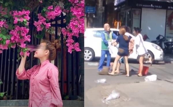 """Bị dân mạng tìm đến tận nơi """"dạy dỗ"""", chủ shop xinh đẹp đã phải bỏ nhà ra đi sau khi hỗn chiến với cô lao công"""