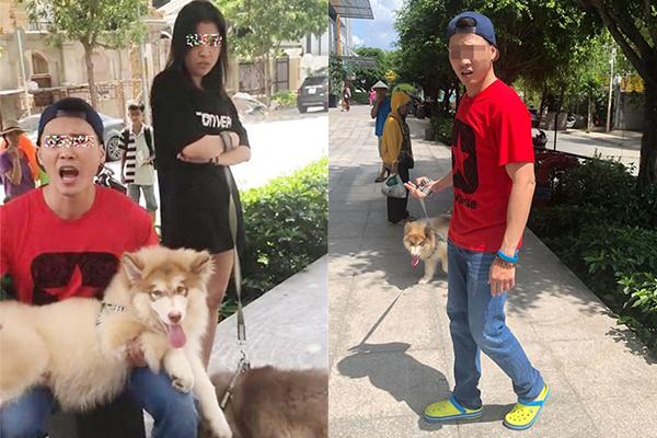 """Bị nhắc khi dắt chó không rọ mõm, chàng Việt Kiều chửi ngược: """"Chó nhà tôi nằm máy lạnh mà phải đứng với tụi bay à"""""""