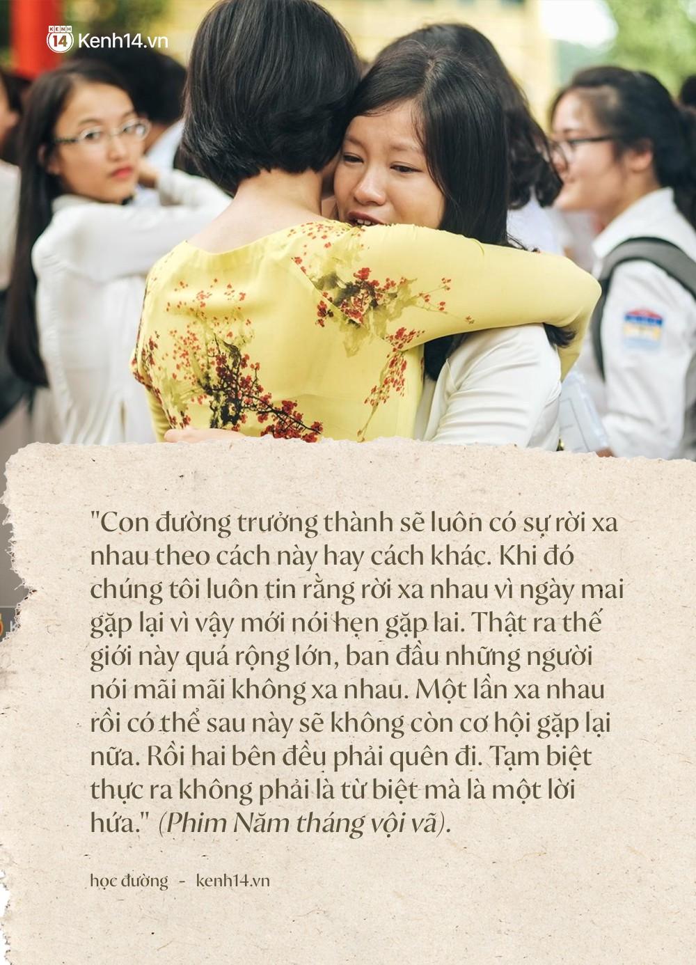 Ảnh 5: Học sinh lớp 12 khóc như mưa ngày chia tay - We25.vn