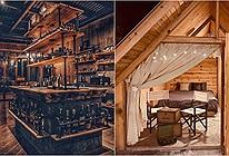 Phát hiện Nhà gỗ sở hữu quầy Bar